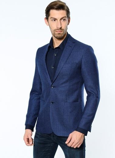 Daffari Slim Fit Blazer Ceket Lacivert